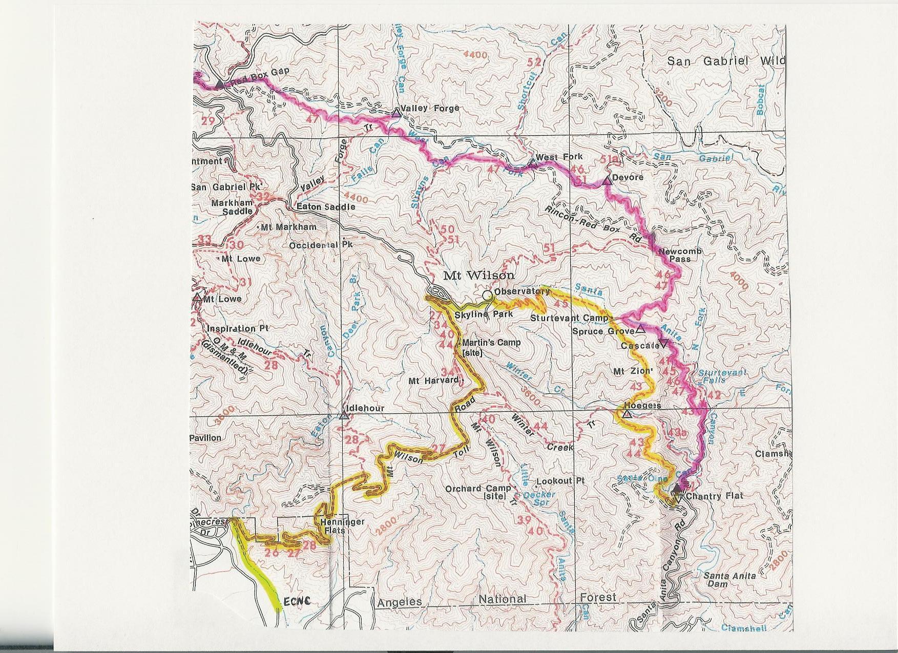 mt wilson trail map pdf